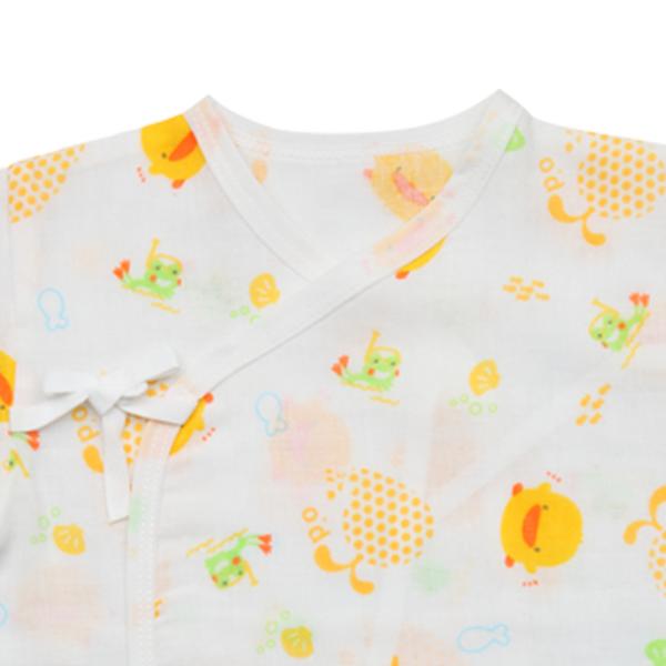 『121婦嬰用品館』黃色小鴨 印圖紗布肚衣 2