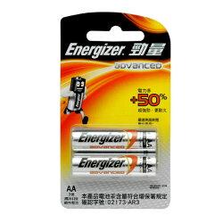 勁量高科技鹼性3號電池2入