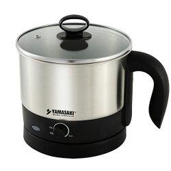 ◤內含#304不鏽鋼蒸碗與蒸架◢ YAMASAKI 山崎 1.0L快煮美食鍋 SK-109S