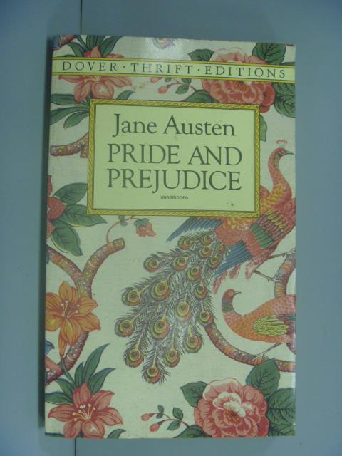 【書寶二手書T1/原文小說_GCS】Pride and Prejudice_Jane Austen