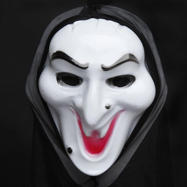鬼月 萬聖節 巫婆 骷顱頭 惡魔 老太太 老太婆 惡整面具 面罩 面紗 V怪客相關【塔克】