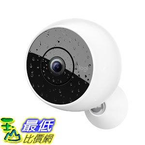 [7美國直購] 攝像機 Logitech Circle 2 Indoor/Outdoor Wireless Home Security Camera Works with Alexa Google