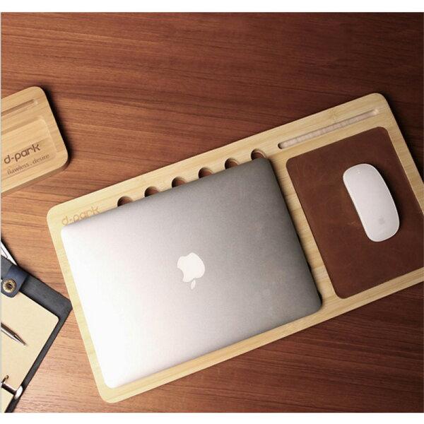 時尚蘋果配件mackbookairipadpro9.7Thinkpad131415吋實木散熱座