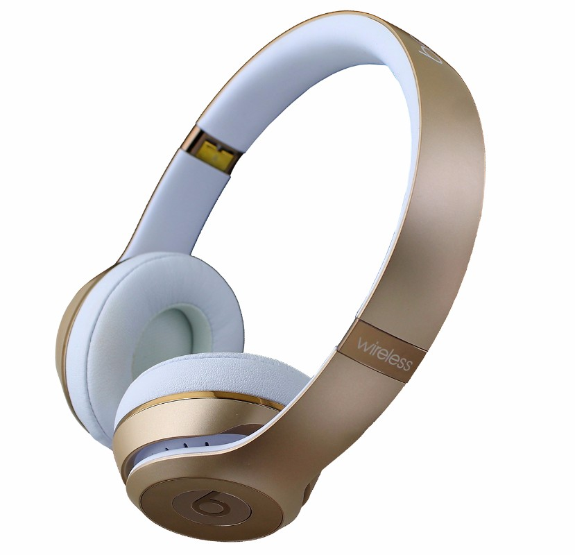 Beats by Dr. Dre Solo3 Wireless On-Ear Headband Headphones MNER2LL/A - Gold
