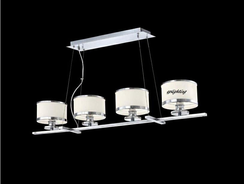 鍍鉻 造型吊餐燈 E27*4