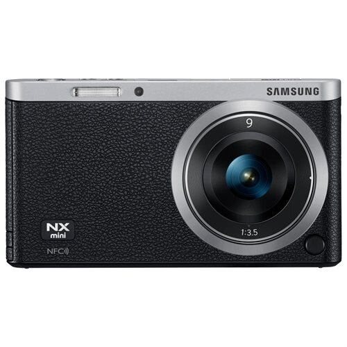 "Samsung NXF1 20.5 Megapixel Mirrorless Camera with Lens - 9 mm - 27 mm - Black - 3"" Touchscreen LCD - 16:9 - 3x Optical Zoom - Optical (IS) - 5472 x 3648 Image - 1920 x 1080 Video - HDMI - HD Movie Mode - Wireless LAN"