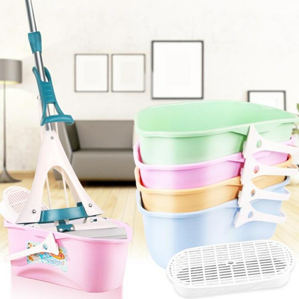 拖把水桶家用長方形加厚拖把清洗桶塑膠