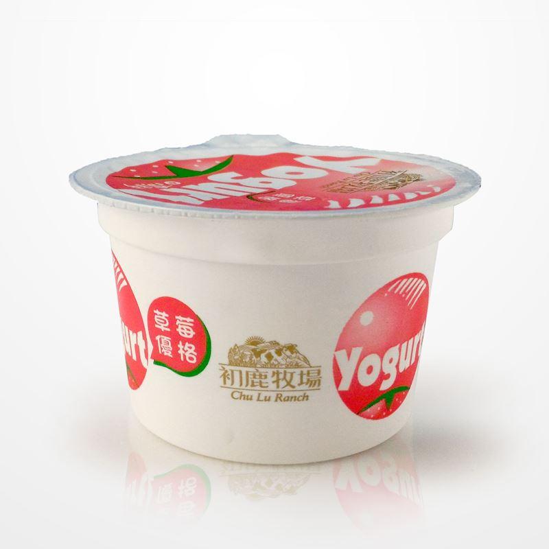 初鹿牧場 草莓優格 12杯 酸酸甜甜【台東專區】 1