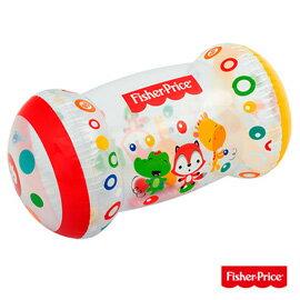 【Fisher-Price 費雪】幼兒充氣學步輪/學步車(附25顆球)-(69-36322)