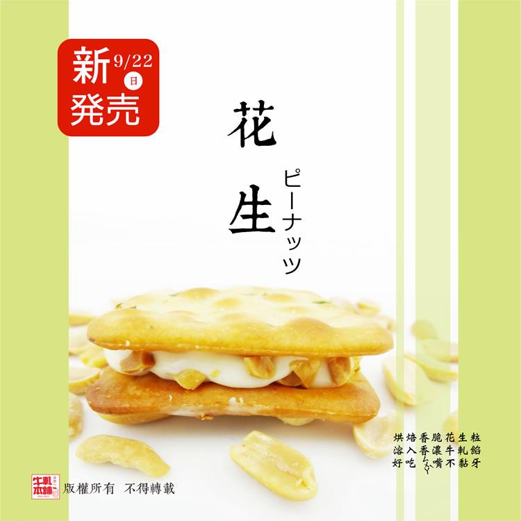 【牛軋本舖】手工牛軋餅♥花生-16片裝