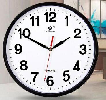 掛鐘 鐘表掛鐘客廳時尚創意個性時鐘掛表簡約家用靜音電子石英鐘掛墻上【天天特賣工廠店】