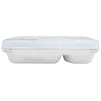 ★衛立兒生活館★ThinkBaby 環保不鏽鋼兒童餐盤組(附湯叉)-牛乳白