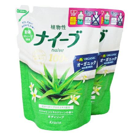 [敵富朗超市]KRACIE娜艾菩沐浴乳/水潤蘆薈補充包