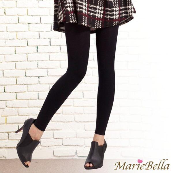 i style居家生活 MarieBella 140D高彈力刷毛保暖九分褲襪 (黑)【KS12019】i-Style居家生活