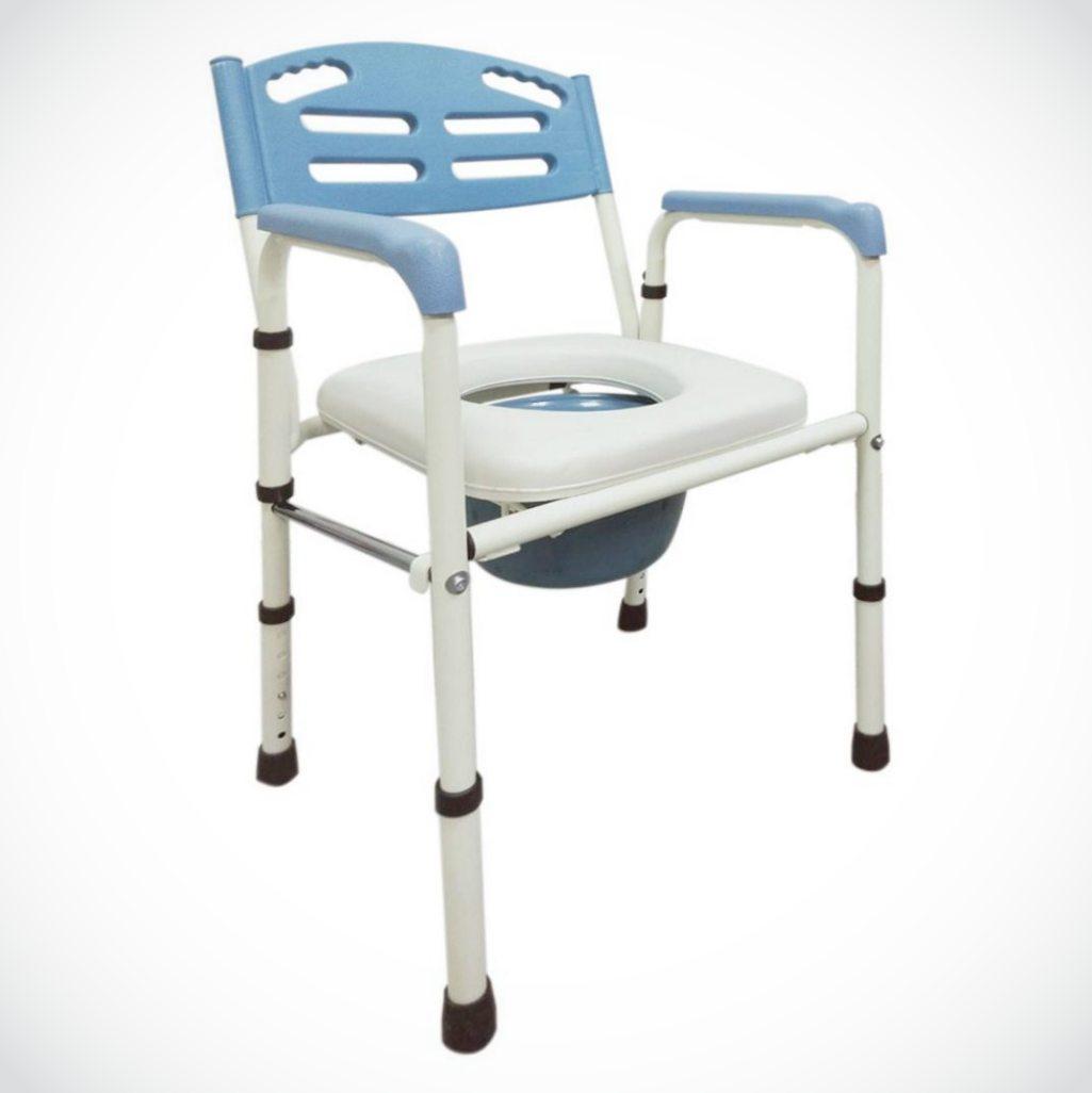 來而康 FZK-4221 鐵製烤漆可折合 便椅