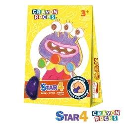 美國 Crayon Rocks 酷蠟石 - 魔術師 斯達兒 4色