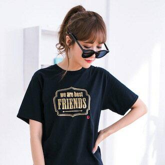 8007-Wearebestfriends●最好的朋友短T(3色可選)