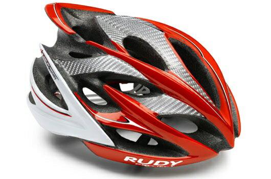 【7號公園自行車】RUDY PROJECT WINDMAX 頂級自行車安全帽(紅白)