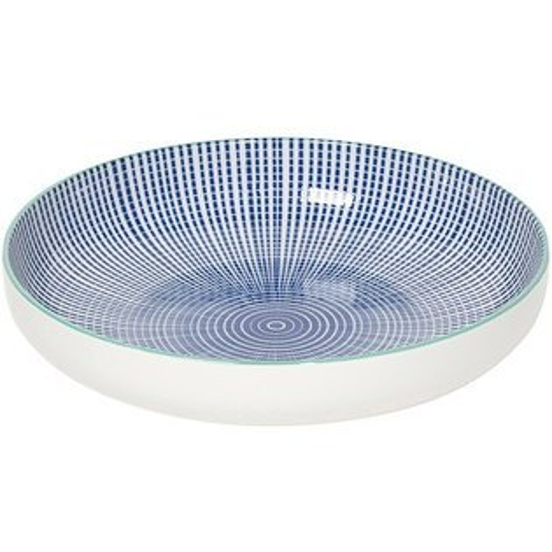 《NOW》圓型深餐盤(漣漪藍)
