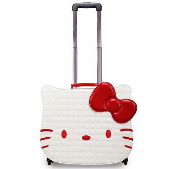 (共4色) 18吋 Hello Kitty 漆皮拉桿行李箱 登機箱 兒童孩童 書包 旅遊賣萌必選 免運 by[樂活芫創]