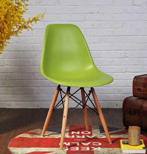 【迪瓦諾】Eames Chairs 伊姆斯椅 綠色/北歐風/餐桌椅/免運費