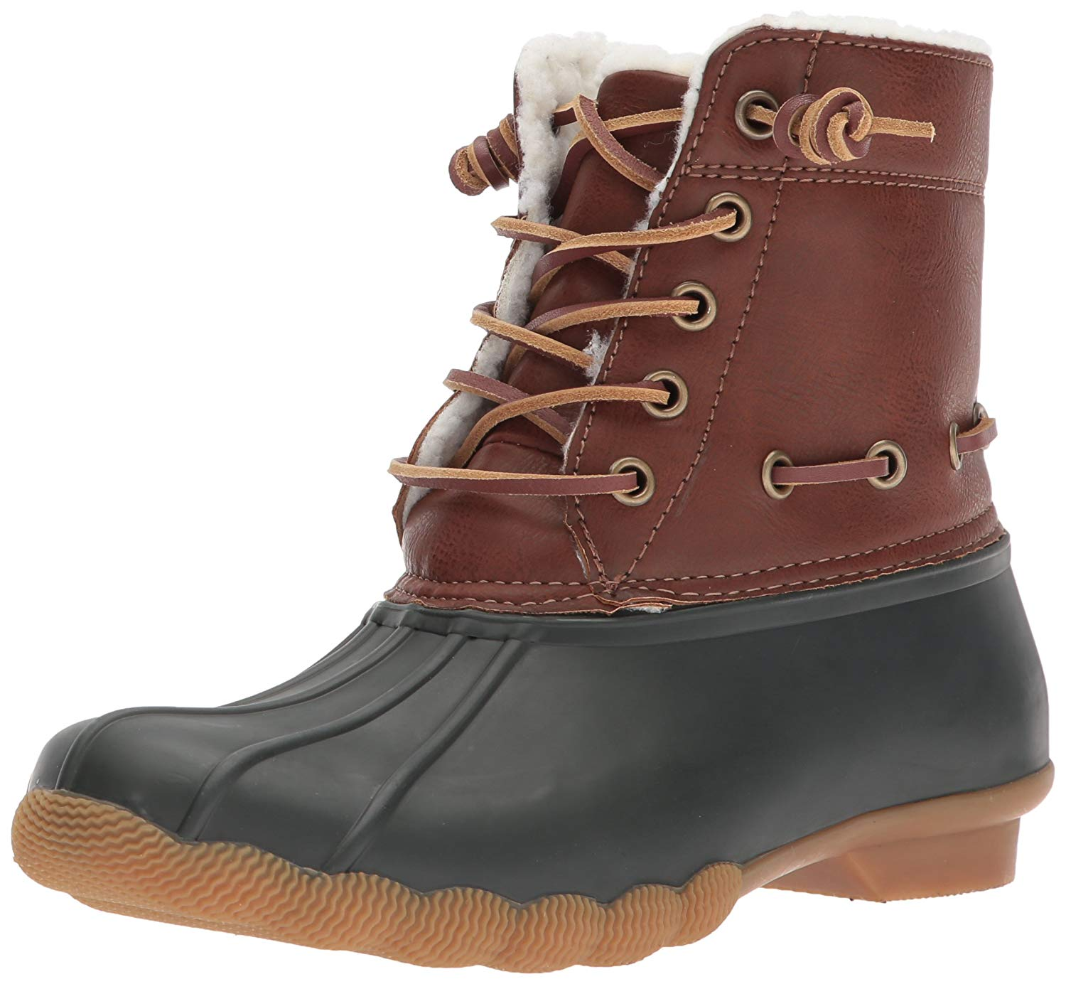 706809ca9a8 PairMySole  Steve Madden Womens Torrent Closed Toe Ankle Rainboots ...