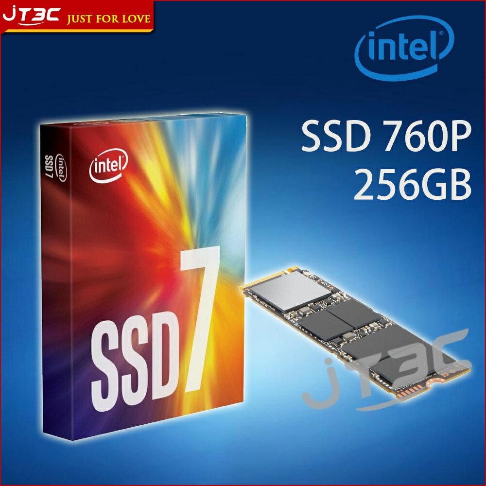 【點數最高16%】Intel 760p 256GB 256G M.2 PCIe3.0 NVMe SSD 固態硬碟※上限1500點