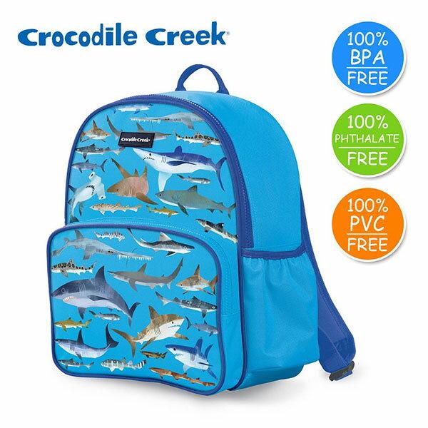 《美國CrocodileCreek》GoKids兒童造型背包-鯊魚世界