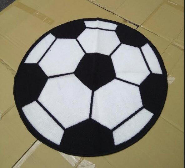 特價出清499元含運80CM圓形足球地毯