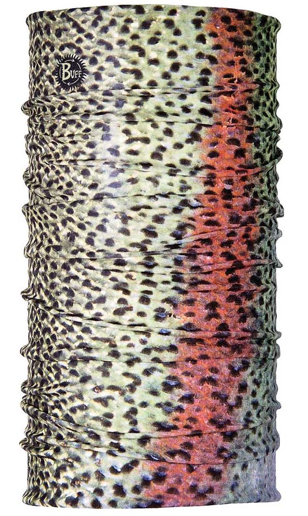├登山樂┤西班牙BUFF COOLMAX 抗UV頭巾 釣魚-彩虹鱒魚 #BF100528