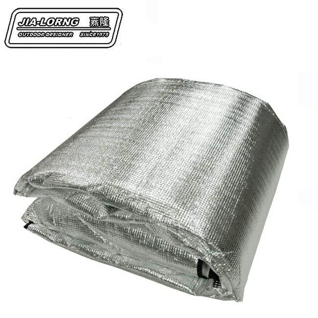 【【蘋果戶外】】嘉隆 JIALORNG 市售最厚 3mm 單人鋁箔睡墊 地墊/防潮墊/PE墊/泡棉地墊