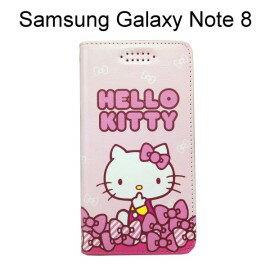 HelloKitty彩繪皮套[嘟嘴]SamsungGalaxyNote8N950FD(6.3吋)【三麗鷗正版】