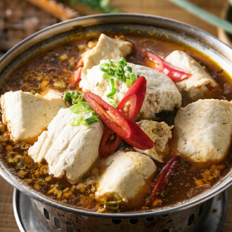 【張家麵館 】 香麻紅油臭豆腐450g / 份 沿用古法,以莧菜自然發酵製作而成 天然健康《臭香十里。香麻又辣》