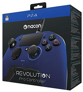 2097 電玩玩具公仔舖:PS4NACONRevolutionProController炫藍全自訂控制器手把把手革命專家控制器