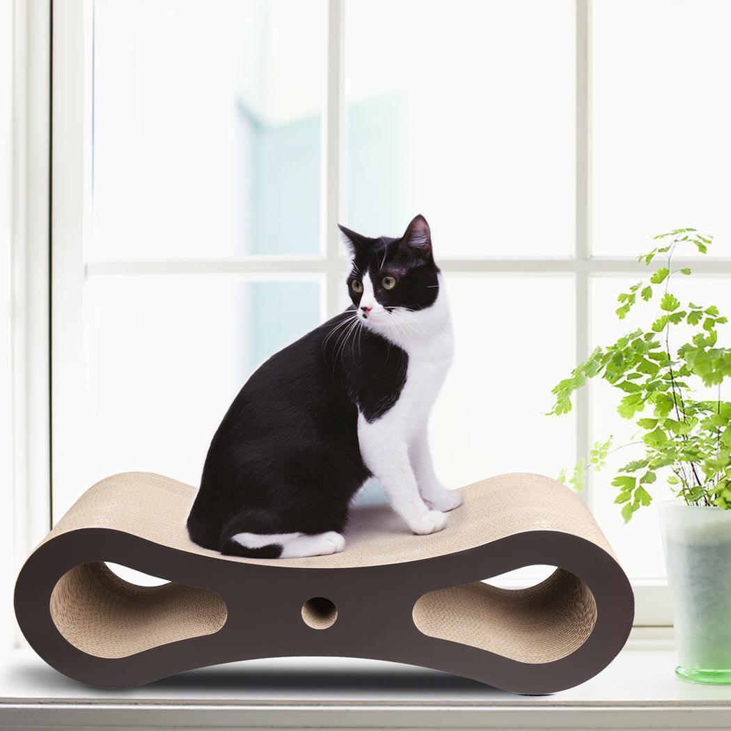 Cat Scratcher Lounge Bed Corrugated Cardboard 2