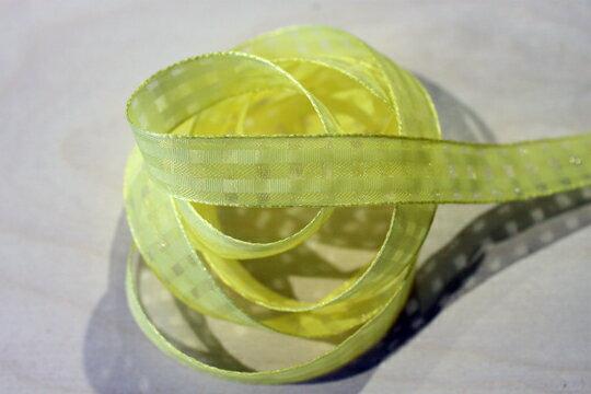 素色格網緞帶-15mm3碼(20色) 3