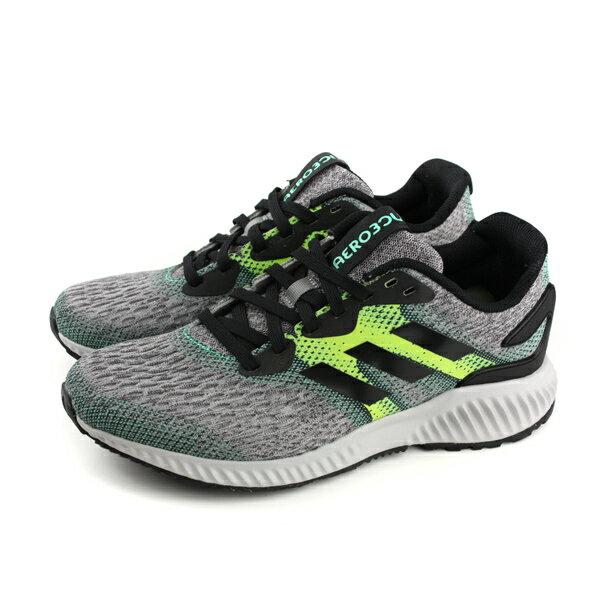 adidas aerobounce m 慢跑鞋 運動鞋 舒適 避震 透氣 男鞋 灰色 CG4658 no589