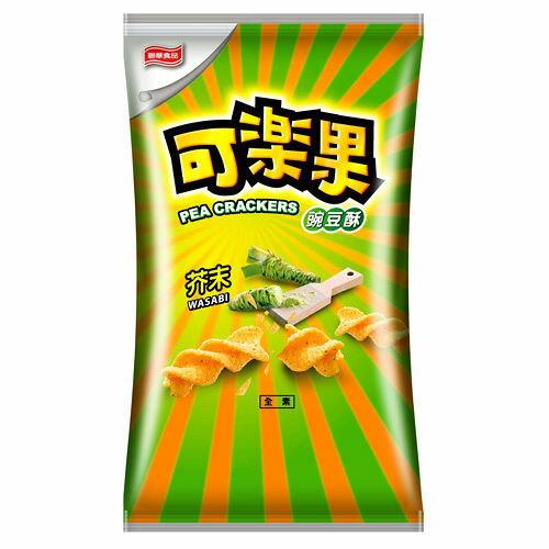 可樂果豌豆酥-哇齋芥末140g【愛買】