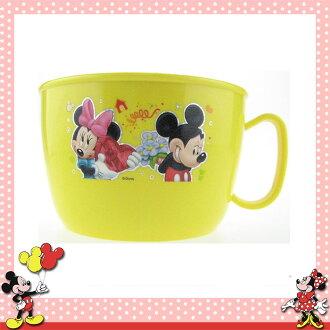 大田倉 日本進口正版迪士尼 米奇&米妮 不鏽鋼 單把 大湯杯 泡麵碗 餐碗 湯碗 約800ML 025977