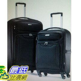 [COSCO代購 如果沒搶到鄭重道歉] Samsonite 軟殼行李箱組 27吋+21吋 W1014752