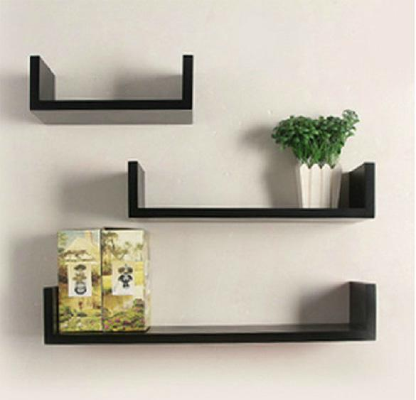 U shape Nesting Wall Shelf Storage 4