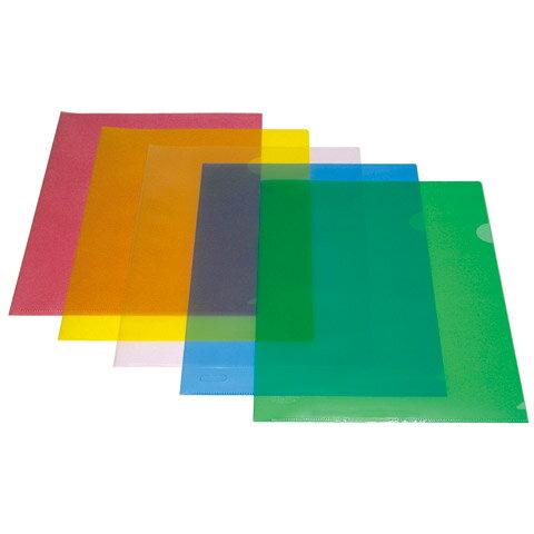 【自強】001 A4 L型文件夾 / 資料夾 / 公文夾 / L夾 / 透明夾 (1包12個) - 限時優惠好康折扣