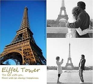 =優 =zakka 艾菲爾鐵塔 法國巴黎鐵塔 金屬模具家居裝飾  鑰匙圈 攝影小物 18公