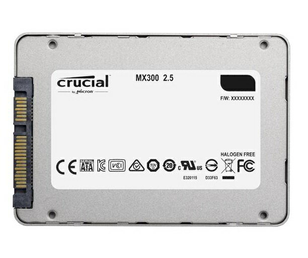 "Crucial SSD MX300 2.5"" 2TB 2.0TB SATA III 6Gb/s 3D NAND 7mm Internal Solid State Drive 530MB/s Maximum Read Transfer Rate 510MB/s Maximum Write Transfer Rate CT2050MX300SSD1 1"