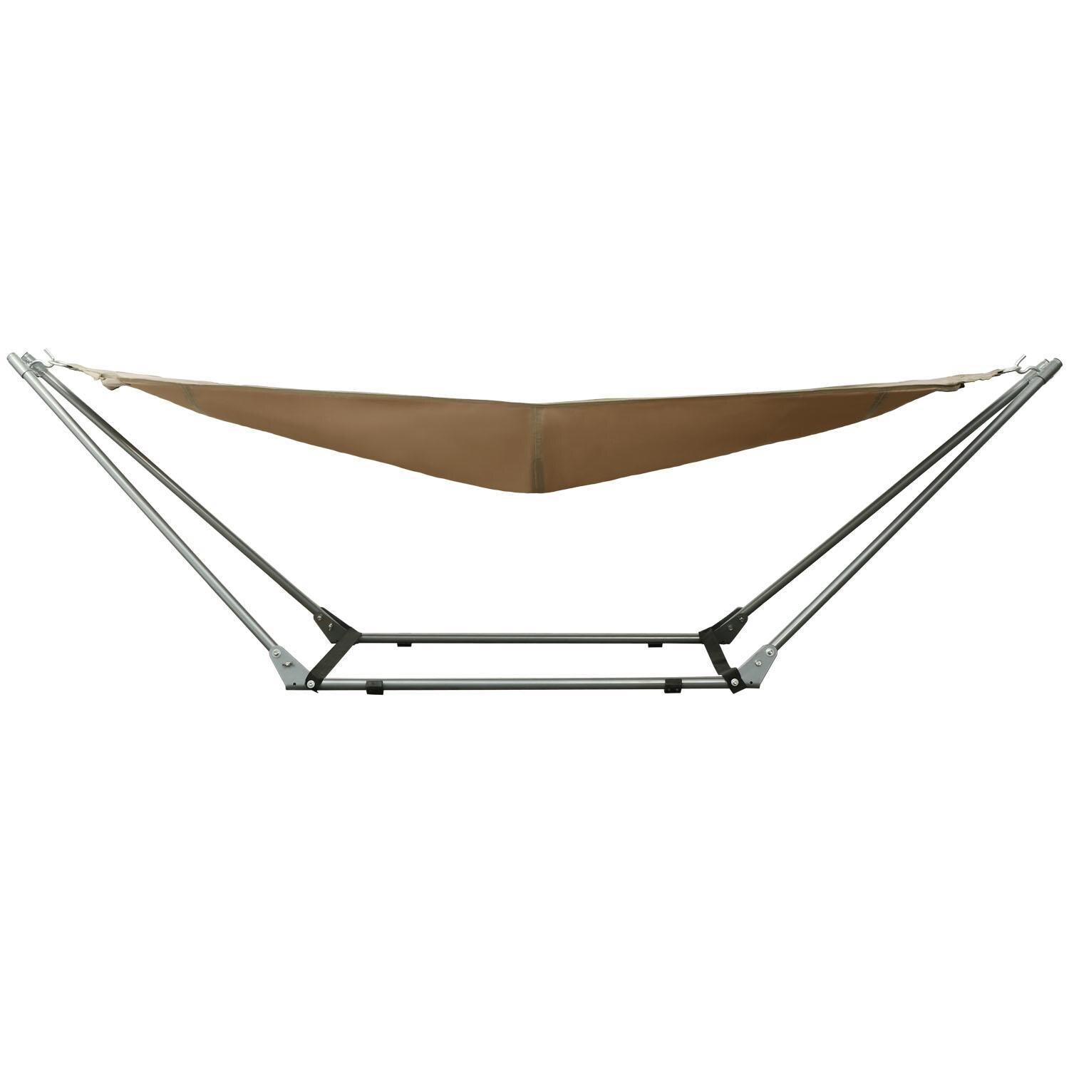 Foldable Adjustable Hammock Garden Beach With Carrying Bag 1