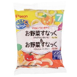 日本【貝親 Pigeon】南瓜芋頭點心&紅蘿蔔蕃茄點心 (7個月以上)