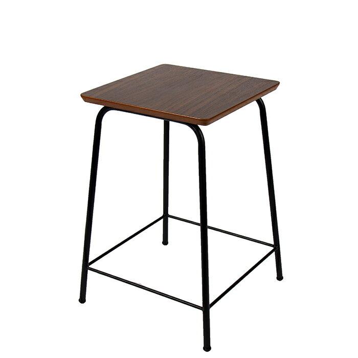 日式吧台椅/邊桌/胡桃木色 日系工業風【Tasteful 特斯屋】