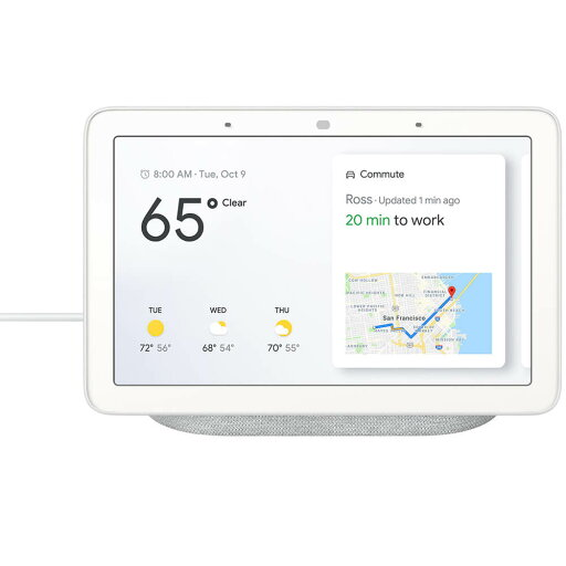 Google GA00516US Nest Hub - Chalk