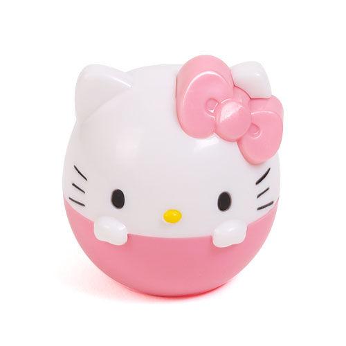 X射線【C232095】Hello Kitty 造型護唇膏-蜜桃,美妝小物/護手乳/香氛/香水/禮盒/交換禮物/唇部保養/唇膜