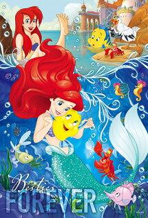 P2拼圖網:DisneyPrincess小美人魚(3)拼圖300片